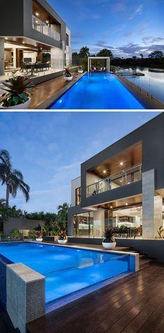 Modern outdoor desig latest house designs backyard indoor living dining area also in pinterest rh