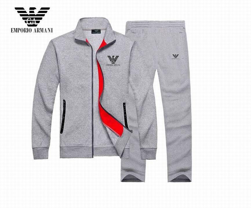 794e84ef9d6a New Armani Men Tracksuit High Quality Sports Apparel Sweatshirt Cotton