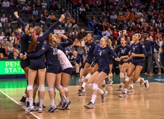 Penn State Women S Volleyball 2014 National Champions Volleyball National Championship Female Volleyball Players Women Volleyball
