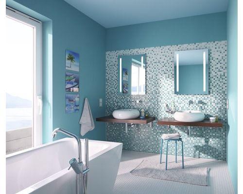 Glasmosaik Farbverlauf grün bei HORNBACH kaufen | Badkamer ...