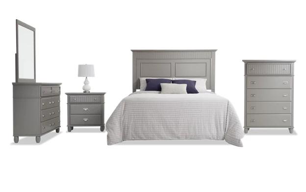 Spencer Queen Gray Bedroom Set In 2020 Grey Bedroom Set Gray Bedroom Grey Bedroom Furniture