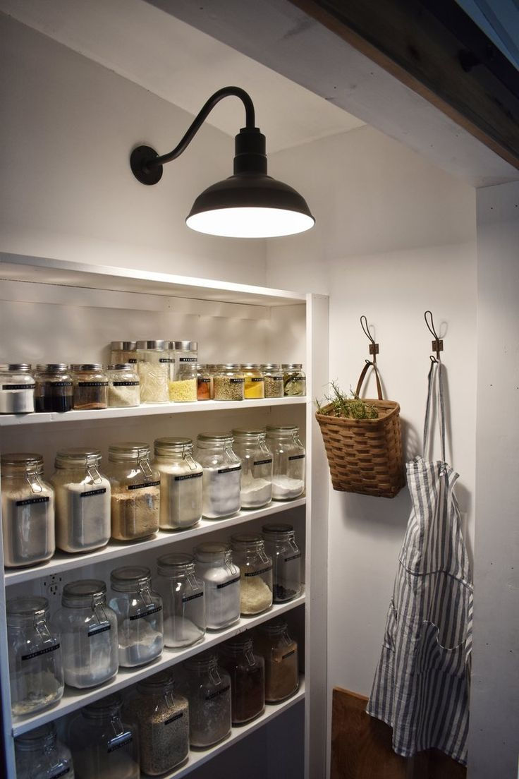 Pantry Lighting For The Kitchen Home Farmhouse