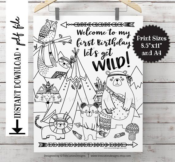 Birthday Coloring Pages Image By Surprise Birthday Ideas Baby S On