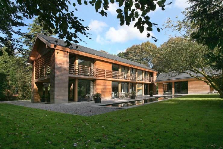 Landhaus moderne architektur  360°: Modernes Landhaus in England | Landhäuser, Moderne ...
