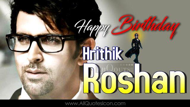 Happy Birthday Quotes Male ~ Hrithik roshan happy birthday greetings pictures hrithik roshan