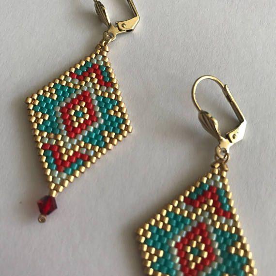 Photo of Americans tones diamond earrings