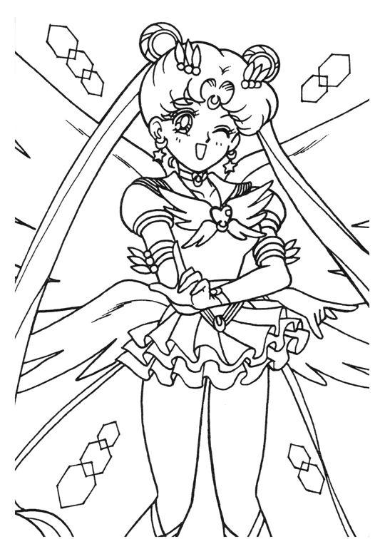 Pin de spetri en LineArt: Sailor Moon | Pinterest | Pintar, Sailor ...
