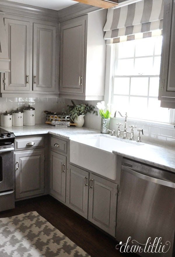 The Finishing Touches on Our Kitchen Makeover (Before and Afters) - Dear Lillie Studio