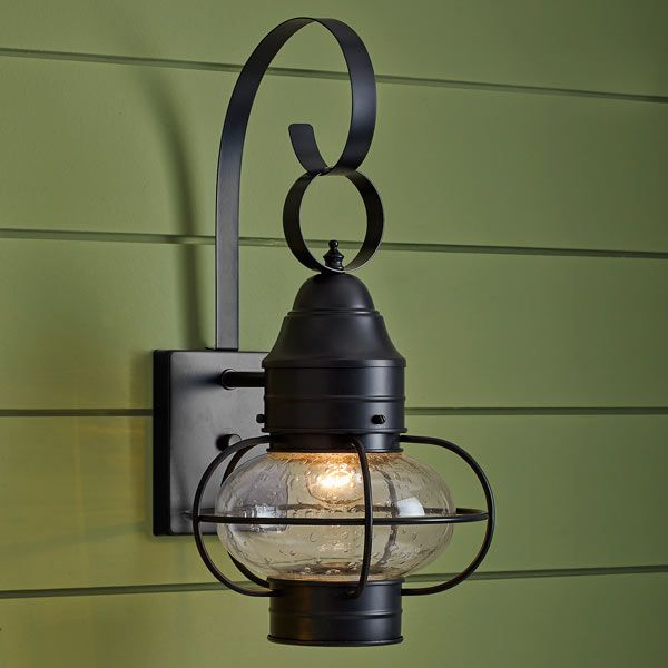 Onion-Style Porch Lanterns | Nautical bathrooms, Wall sconces and Walls