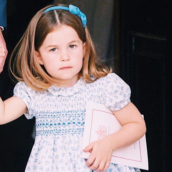 9 Latest News: Princess Charlotte At The Christening Of Prince Louis