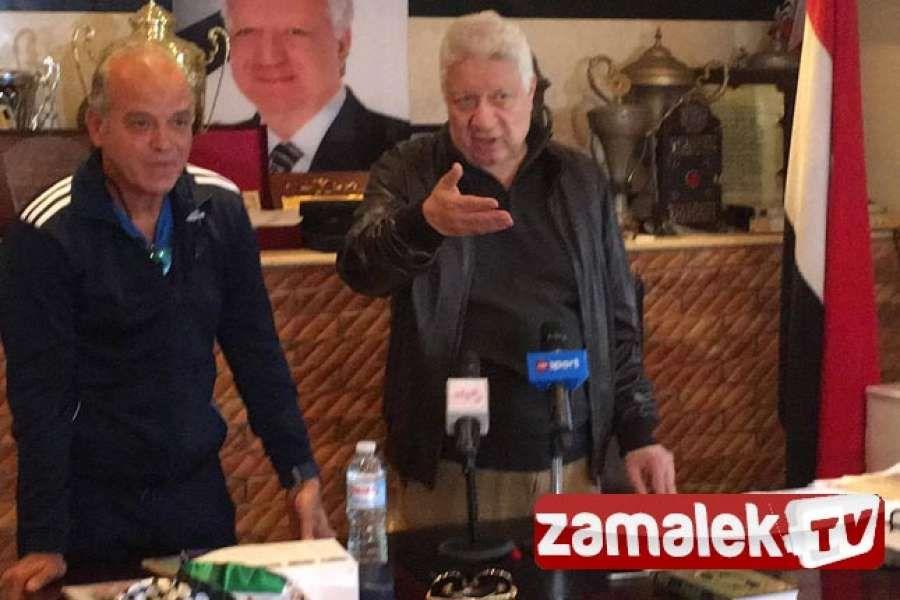 فيديو مرتضى منصور يؤكد انفراد زمالك تي في Talk Show Tv Sports