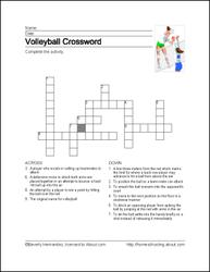 Volleyball Printables Volleyball Wordsearch Voleibol Actividades Educacion Fisica Voleyball