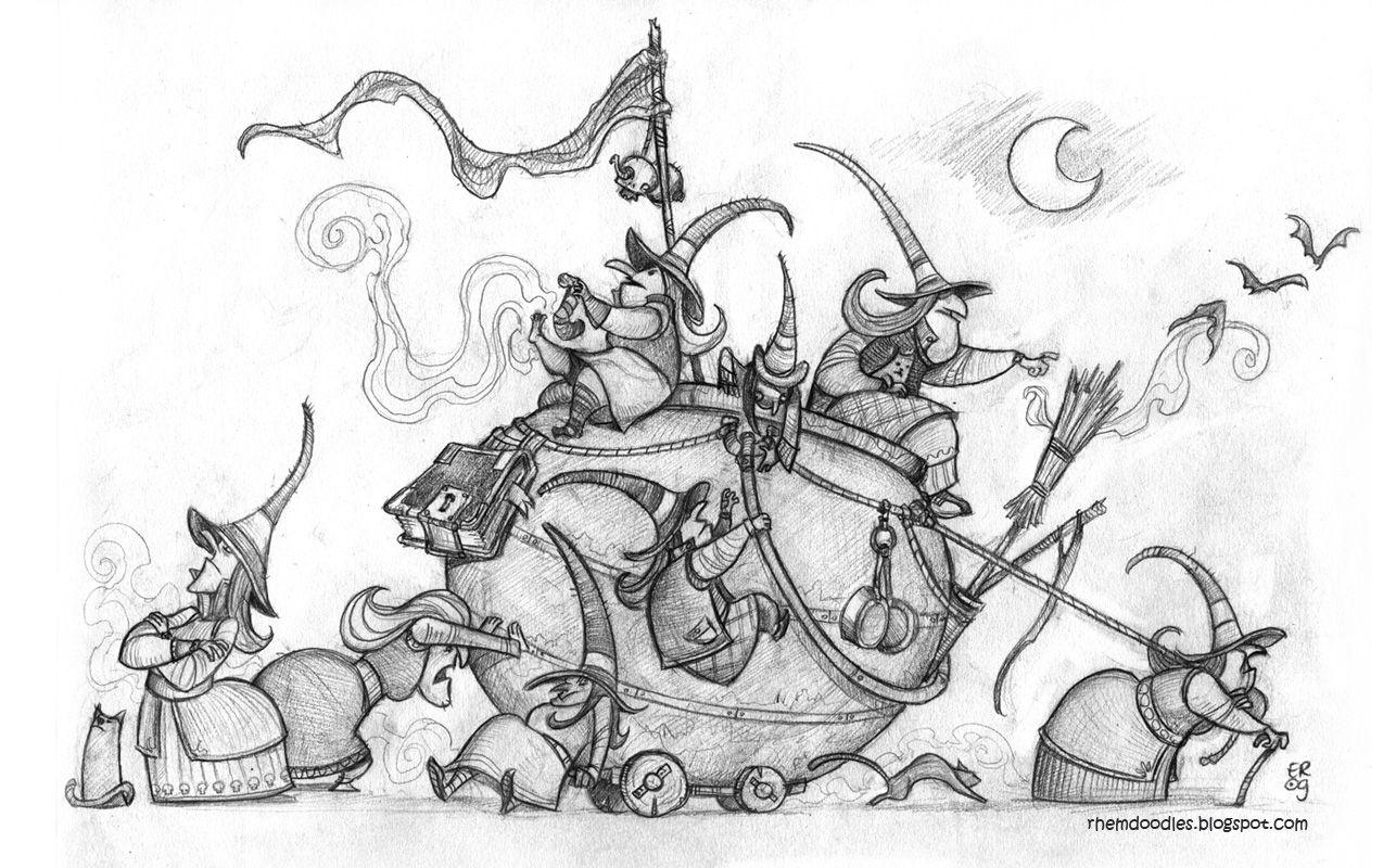 Children Books Illustrations