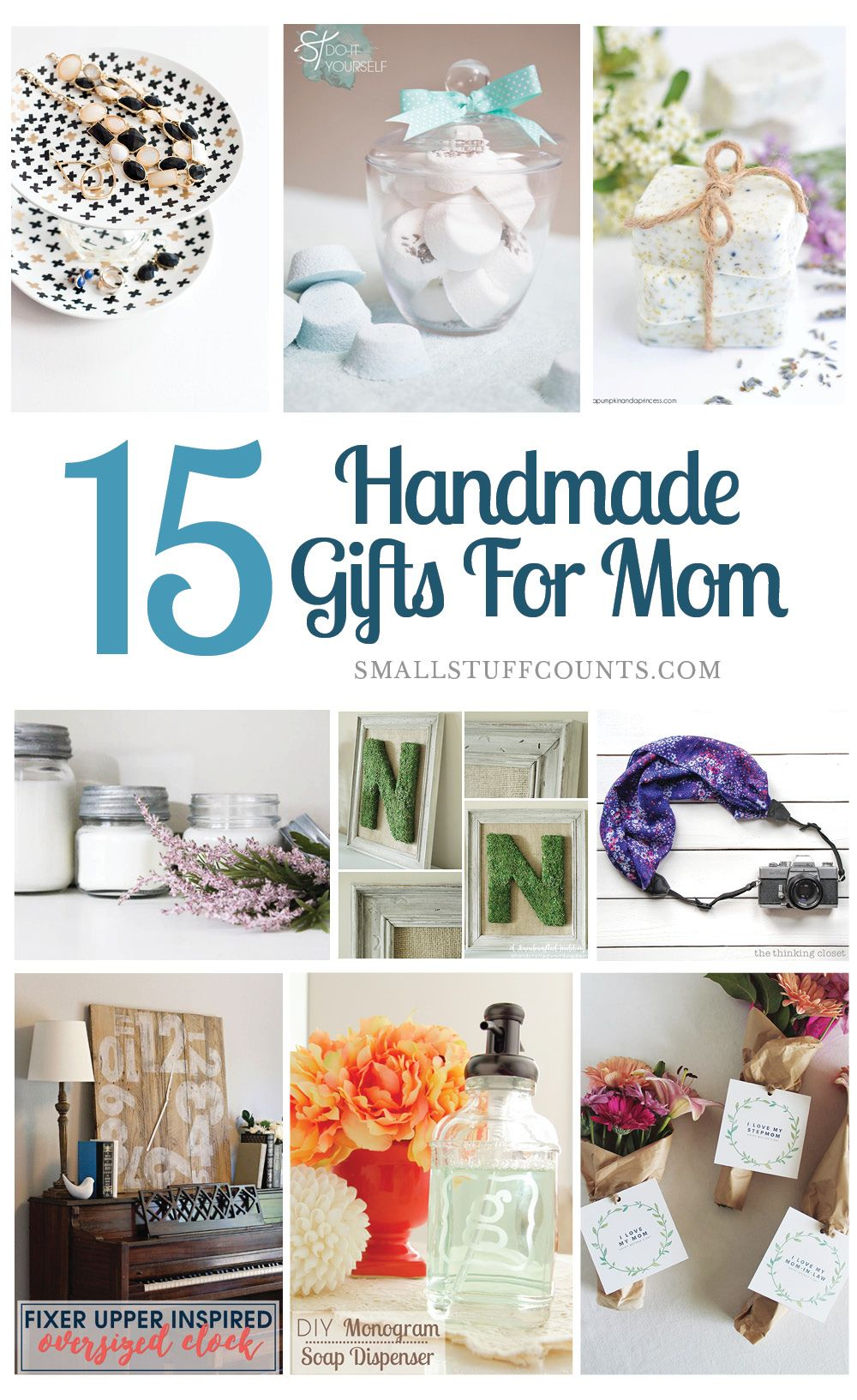 Christmas Craft Ideas For Mom Part - 16: Beautiful DIY Gift Ideas For Mom
