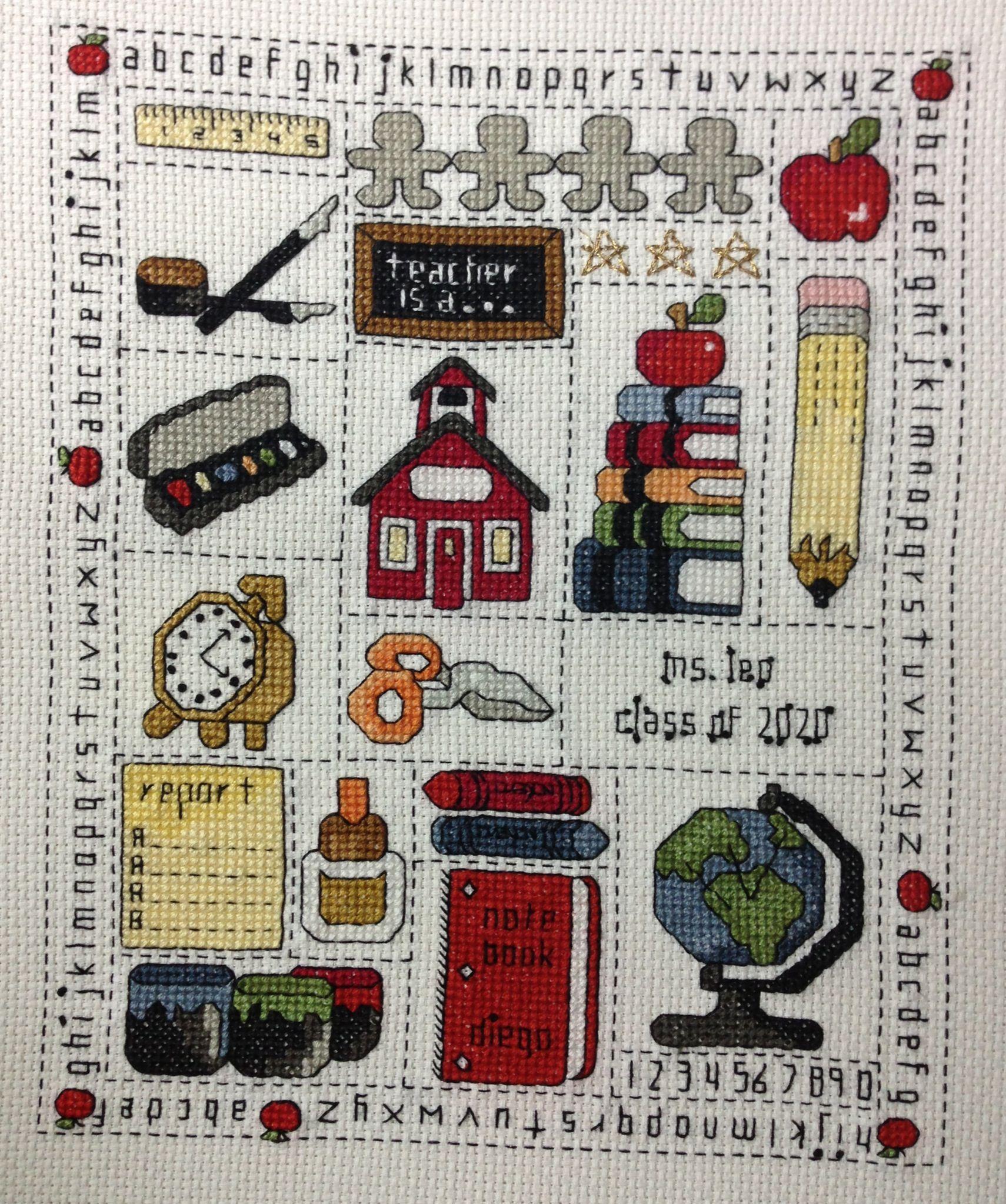 Un regalo para una maestra maravillosa regalitos - Labores de punto de media ...