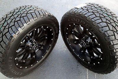20 Black Wheels Tires Dodge Truck Ram 1500 20x9 Lonestar 20
