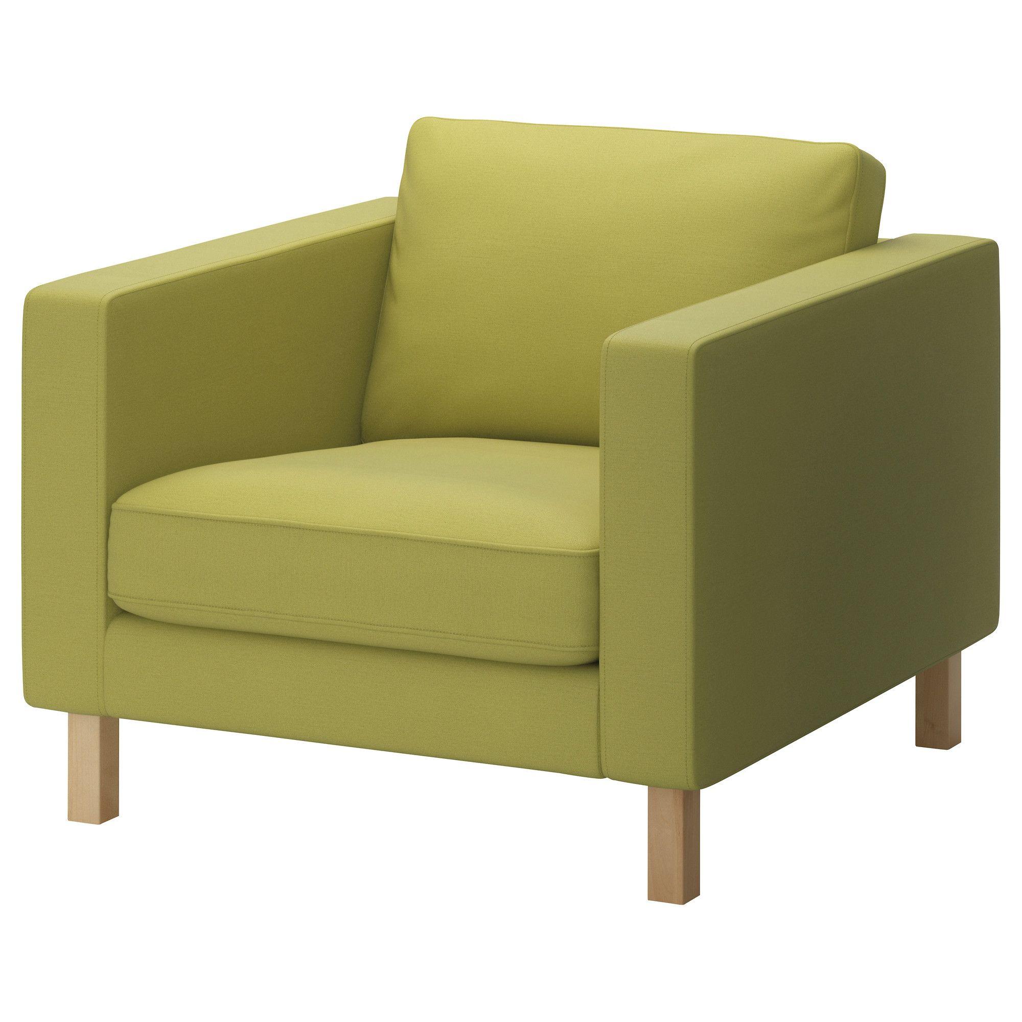 KARLSTAD Sessel - Sivik gelbgrün - IKEA