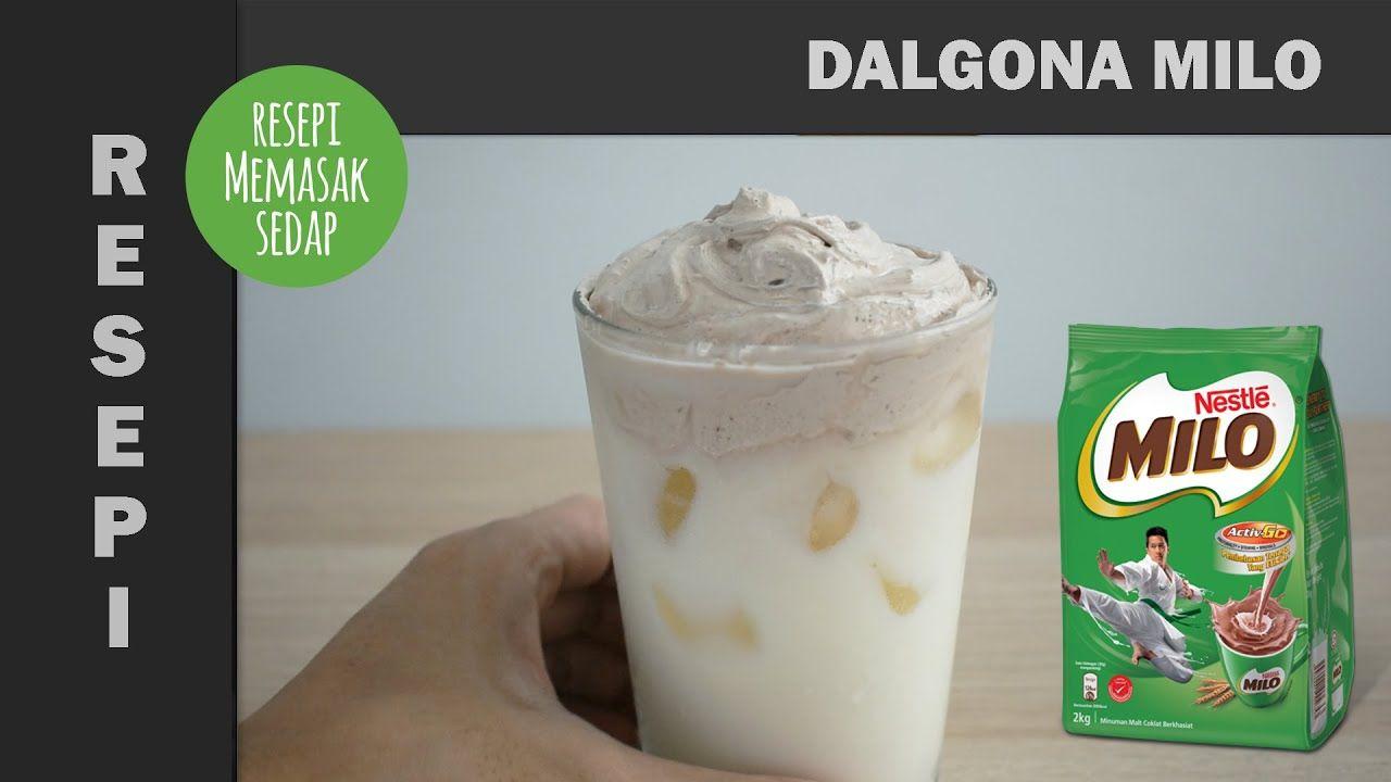 Resepi Dalgona Milo Simple Ovalet Mixer Tanpa Whipping Cream Viral Mudah Resep Oreo Mixer