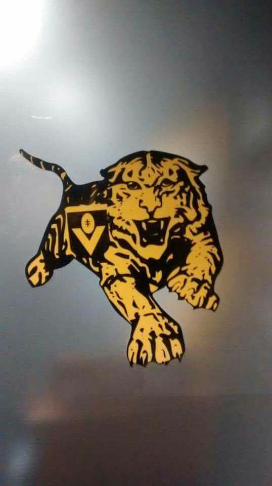 Richmond Football Club Old Club Logo Richmond Football Club Tiger Art Richmond