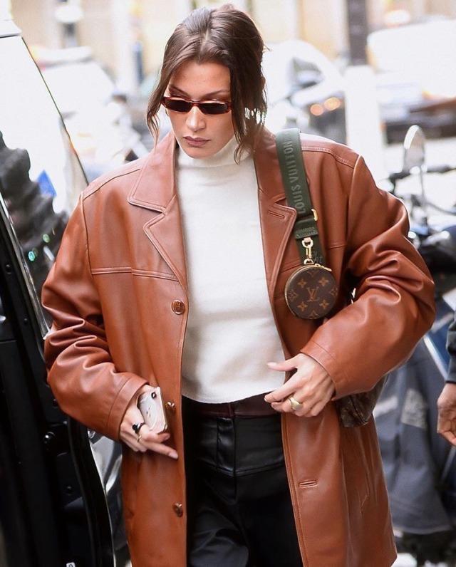 Bella Hadid in Paris – 2020 Street Style