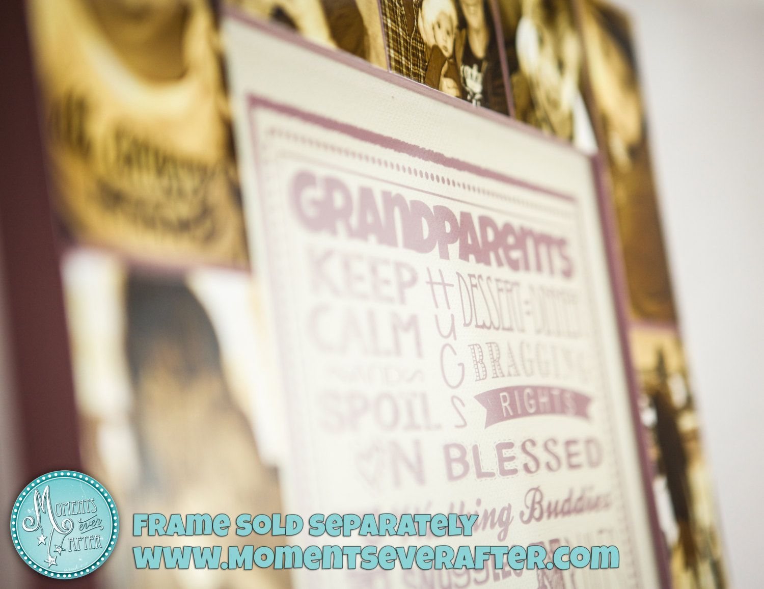 Great gift for Grandparents! | Holiday Gift Ideas | Pinterest | Etsy ...