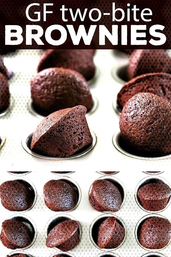 Two Bite Gluten Free Brownies | Great GF Recipes That Really Work  - Gluten Free Dessert Recipes -