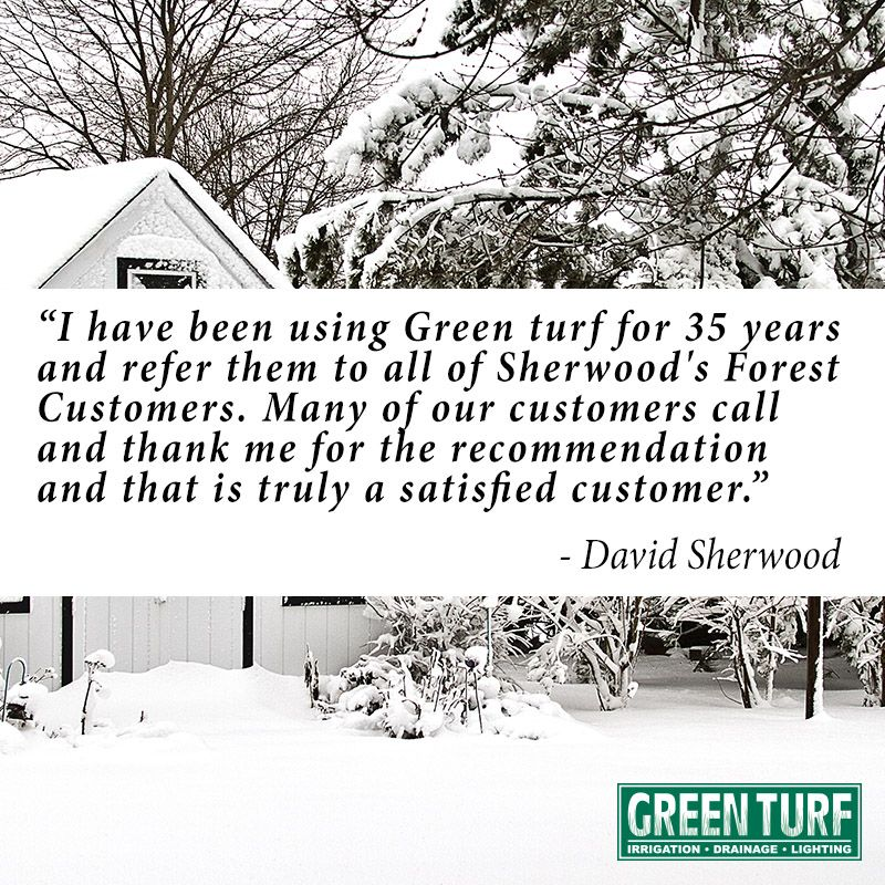 We Cherish All Of Our Loyal Clients Including David Sherwood S Forest Nursery