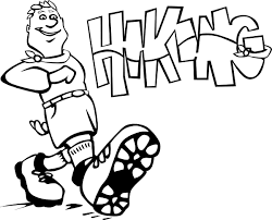 Image result for hiking cartoons