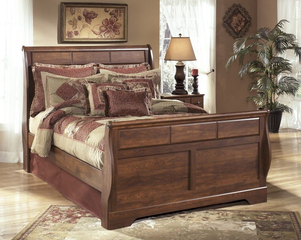 Timberline Queen Sleigh Bed Queen Sleigh Bed Ashley Furniture Ashley Furniture Bedroom