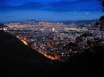 Caracas de noche...