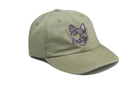 8bd8399d721 Bombay cat embroidered hat baseball cap cat mom gift pet ...
