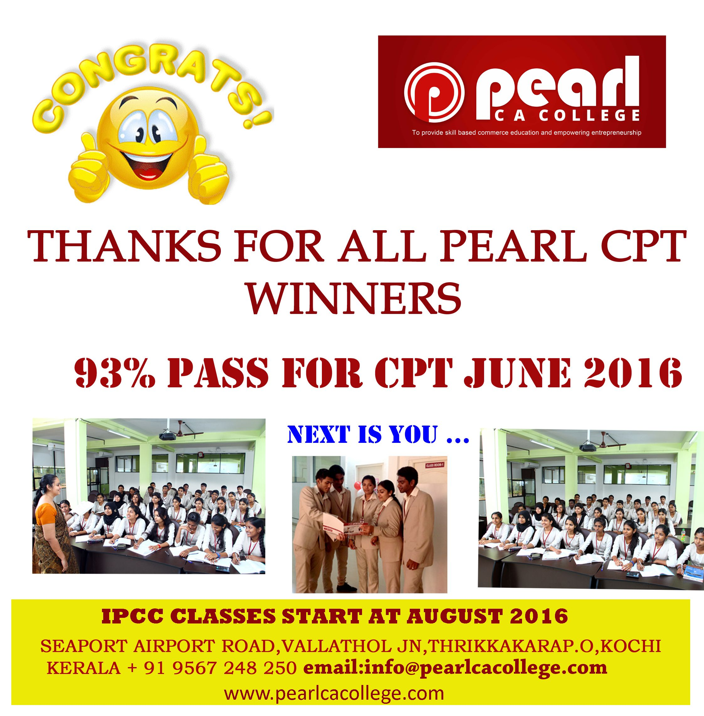 Congrats to all CPT Winners http://www.pearlcacollege.com/EducationIndex.php