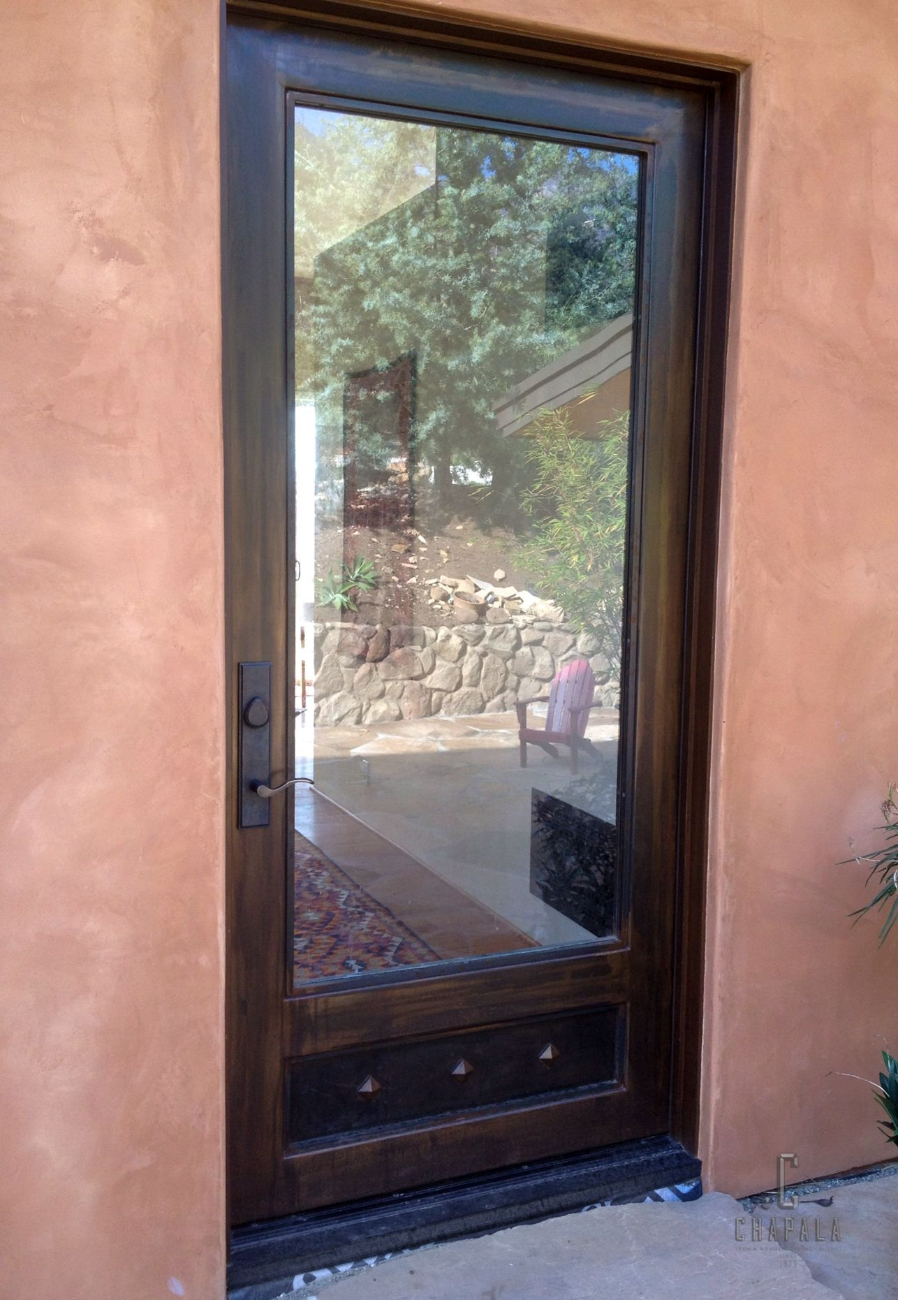 A Steel Door With Single Gl Panel You Might Be Surprised To Find That Insulated There Can Negligible No Difference In