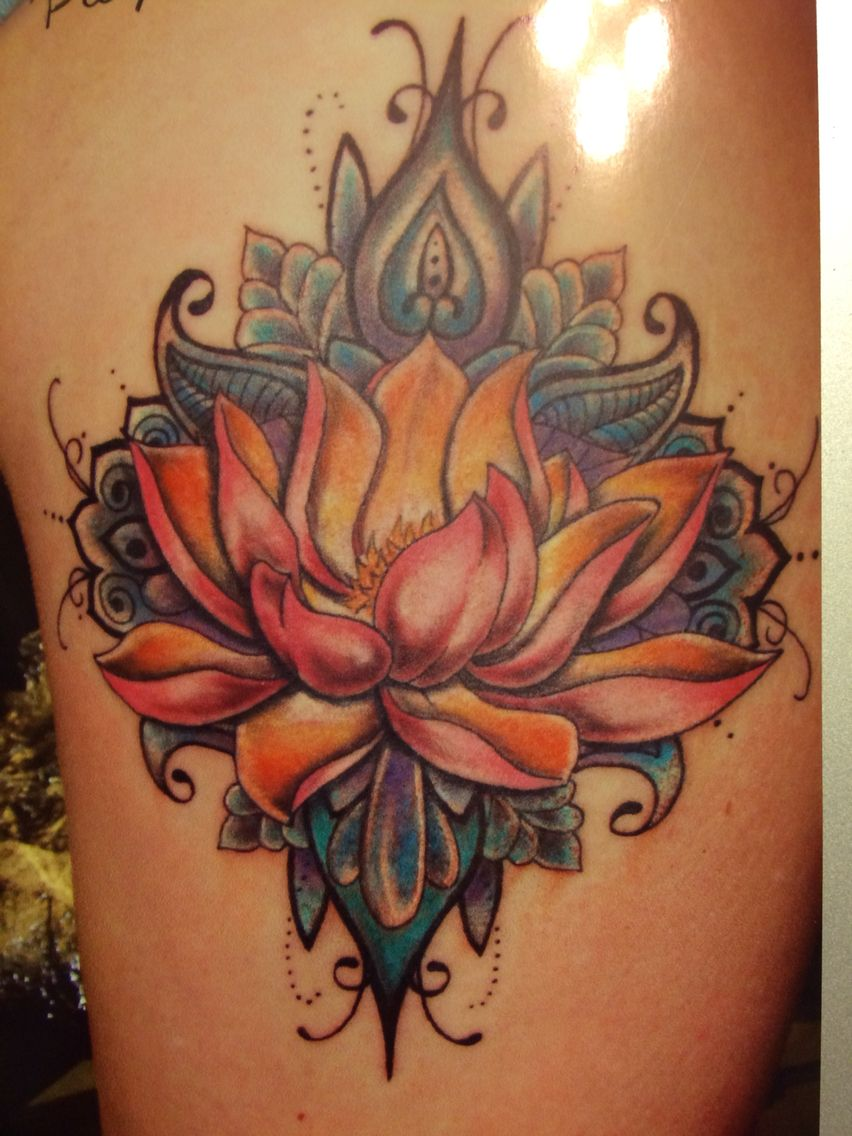 Lotus tattoo done by donna molina lotus tattoo pinterest lotus lotus tattoo done by donna molina izmirmasajfo