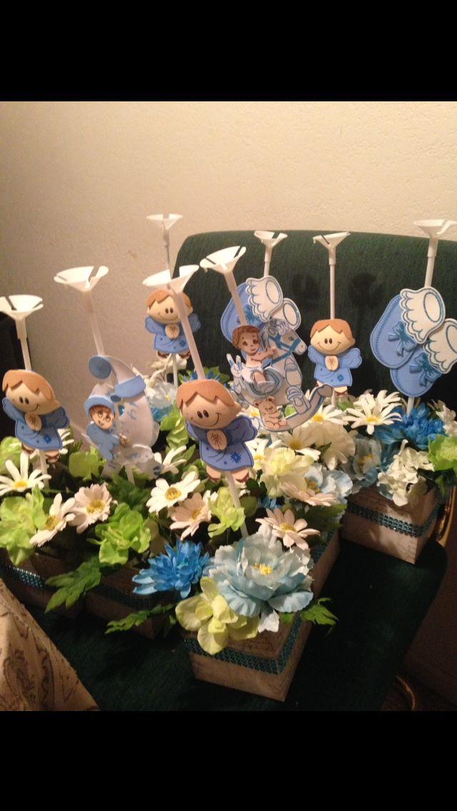 Centros de mesa para baby shower!! Mis ideas!!! Pinterest