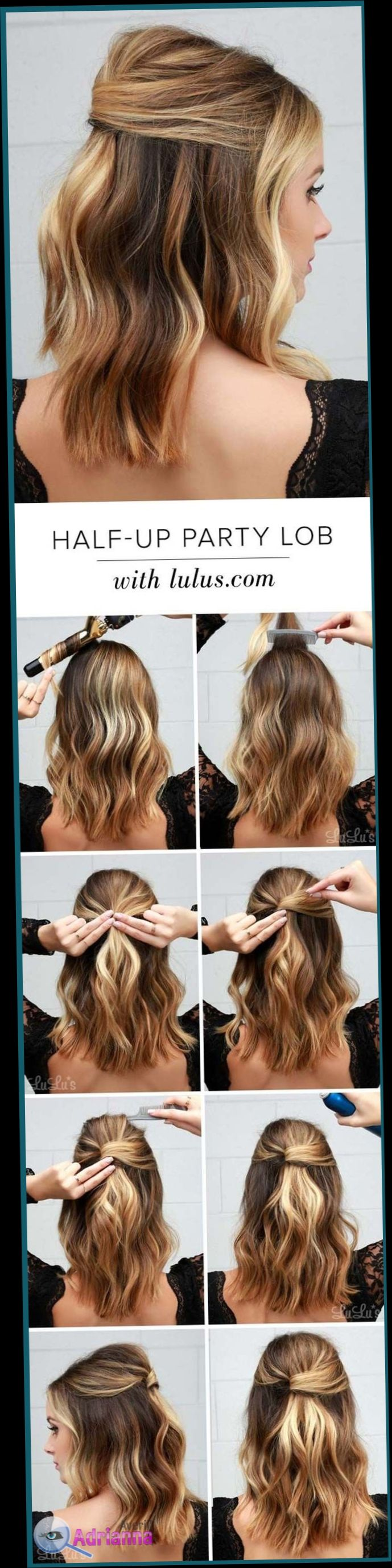 Easy Hairstyles For Short Hair To Do At Home Step By Step So That Our Limited Time Is Not Reflected In Our L Hair Styles Medium Hair Styles Long Hair Styles