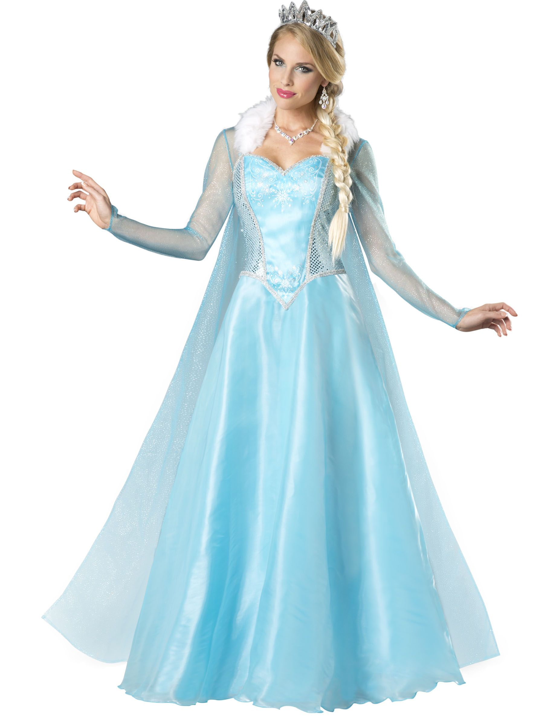 Disfraz de reina del hielo para mujer -Premium   Elsa