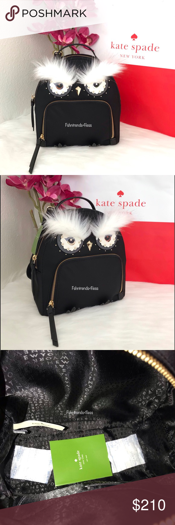 eb91f1e2d08 ✨💯🆕Kate Spade Owl Tomi Star Bright✨ NWT in 2019   My Posh Picks