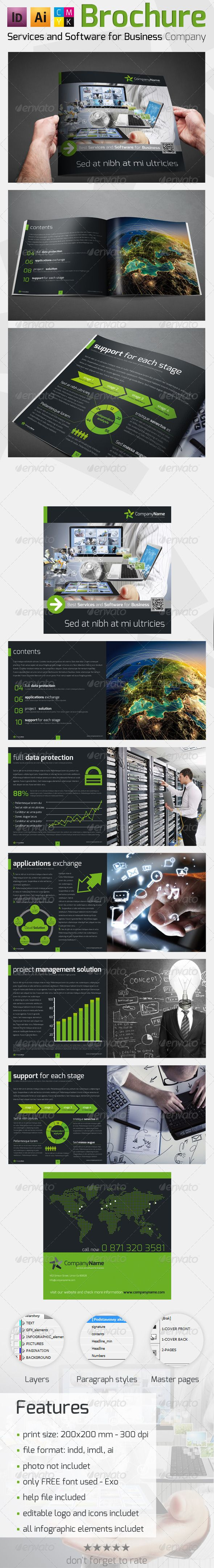 Solution And Software Brochure  Corporate Brochures  Brochures