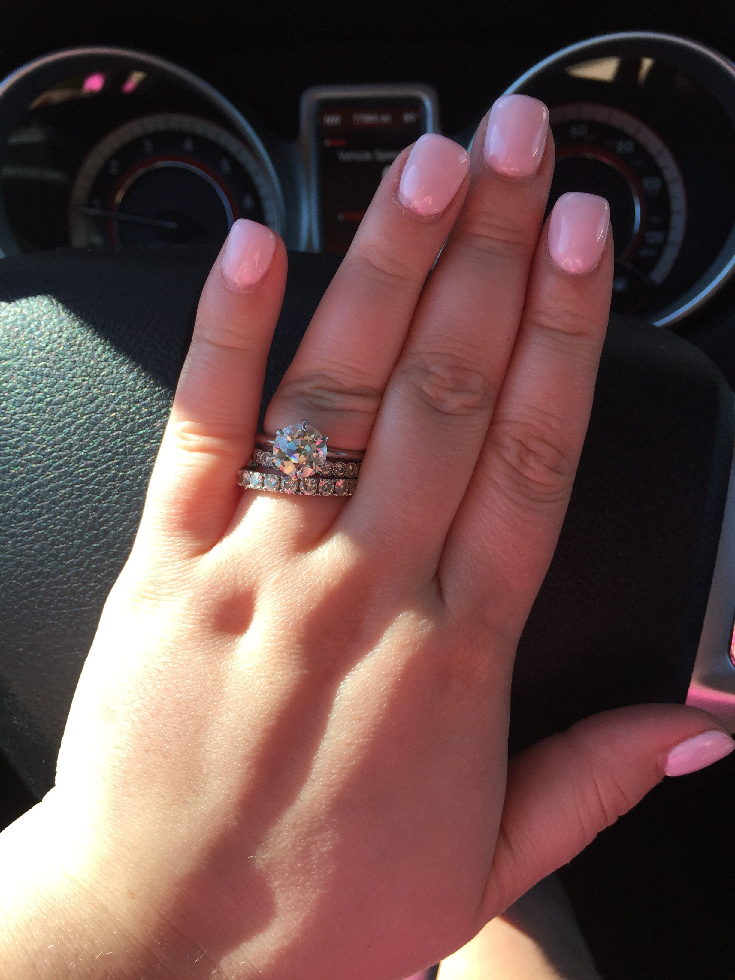 Carat Size For Size 7 Finger Weddingbee