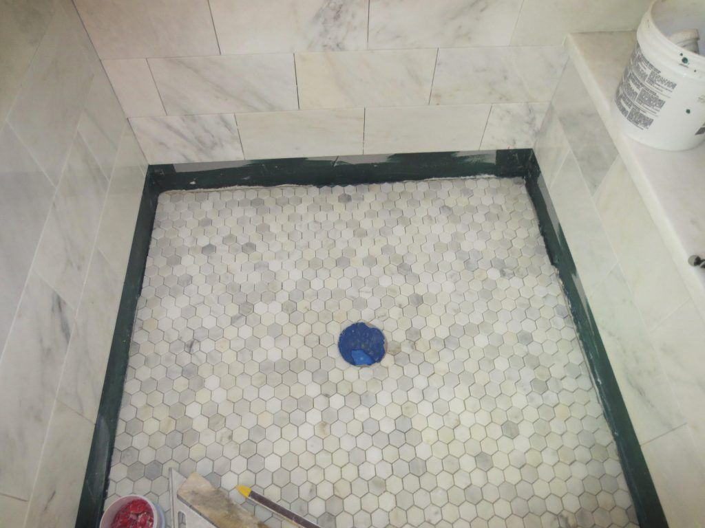 Bathroom Pretty Shower Pan Installation Guide Also Shower Base