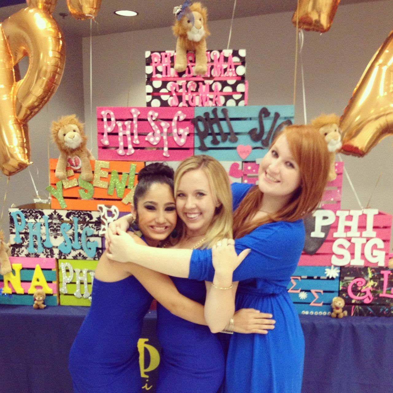 This would be super cute to do for recruitment