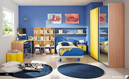 Dormitorios modernos para ni os decorahoy dormitorio - Dormitorios infantiles modernos ...
