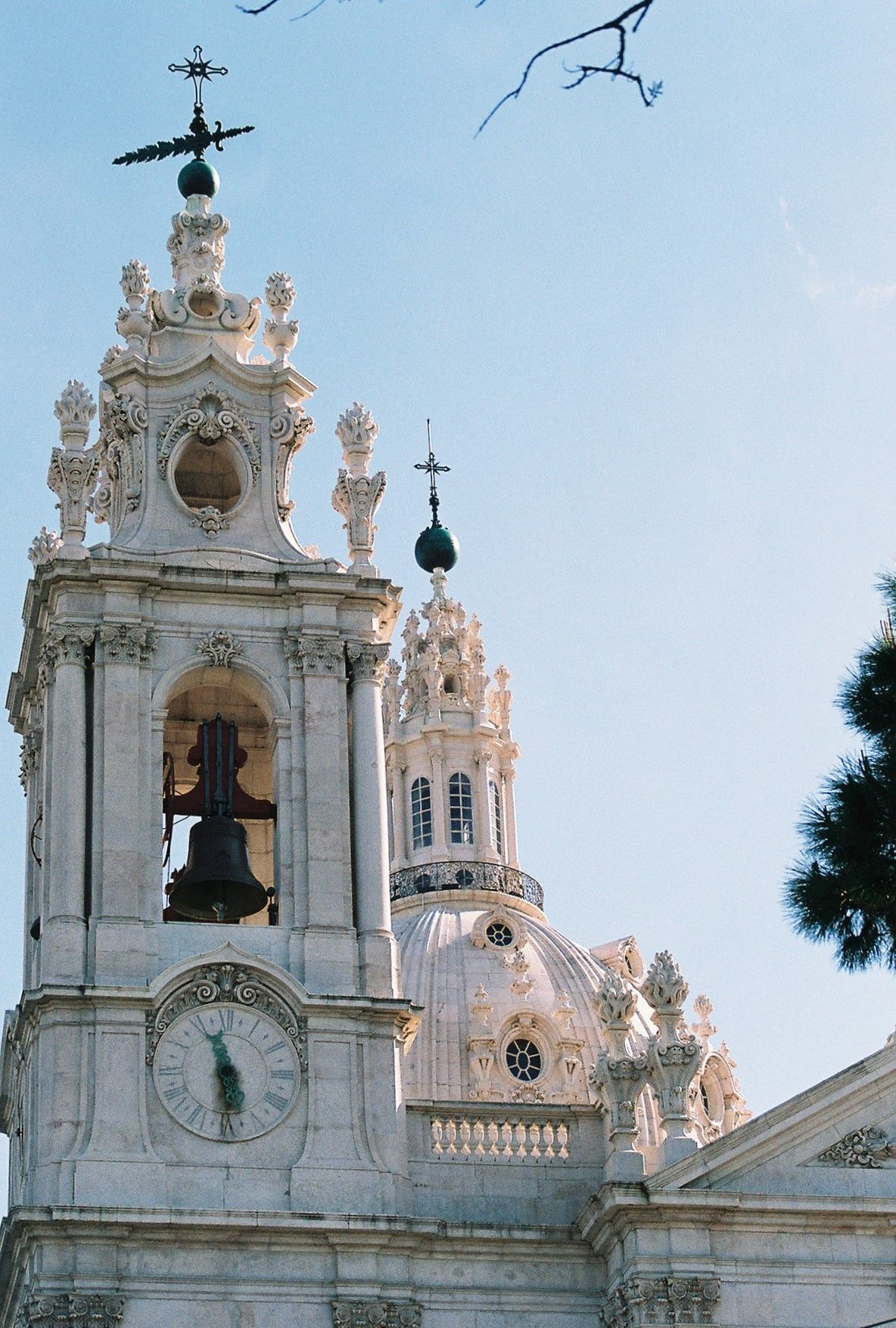 Lisbon, Portugal - Estreala Basilica. Amazing colors and architecture in the city. Original Photography by R. Stowe