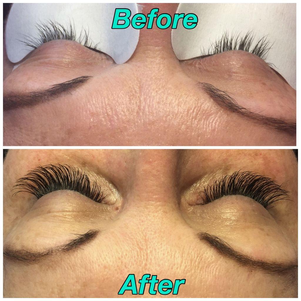 Eyelash Extension On My Beautiful Friend Carly She Had Moderate
