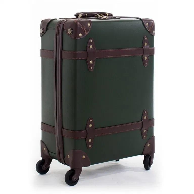 Retro Rolling Luggage Travel Suitcase Set Spinner Sale Lightbagtravel Com Mens Travel Bag Leather Rolling Luggage Suitcase Traveling