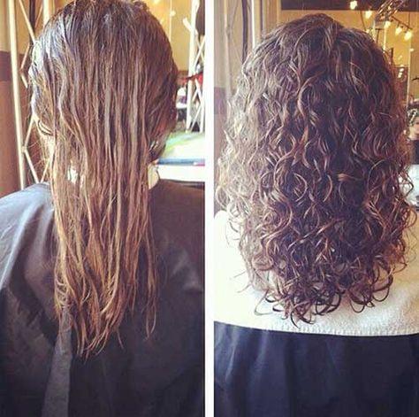 20 Perm Styles Permed Hairstyles Long Hair Perm Hair