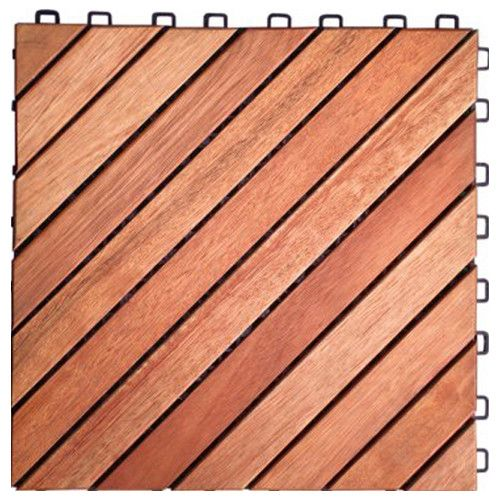 11 22 X 11 22 Wood Interlocking Deck Tile In Tan Balcony Flooring Interlocking Deck Tiles Outdoor Deck Tiles