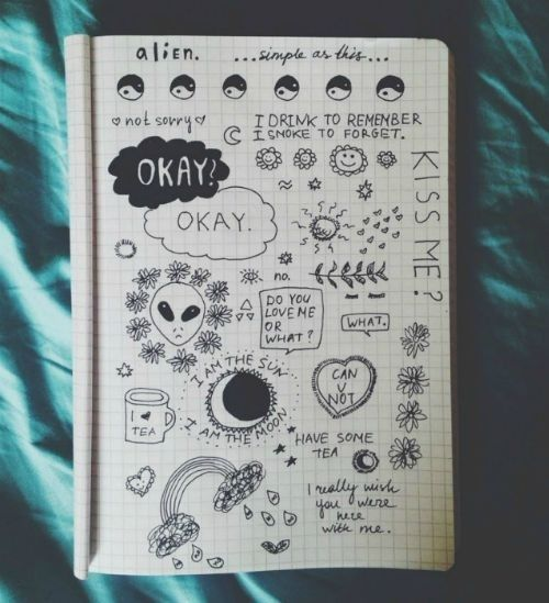 tumblr doodles grunge Google Search Artdiy stuff