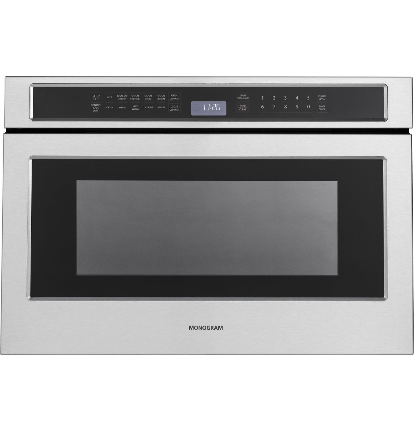 Monogram 1 2 Cu Ft Stainless Steel Microwave Drawer Microwave